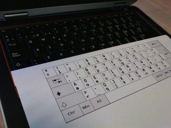 Gestion del cambio. teclados