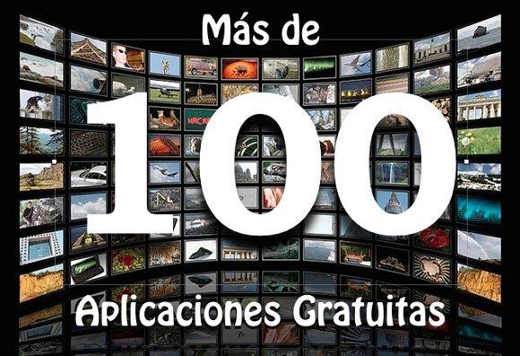 100 aplicaciones gratuitas