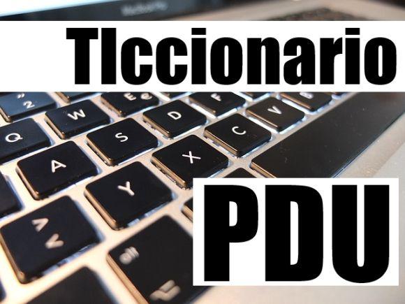 ticcionario pdu