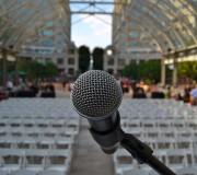 microfono auditorio