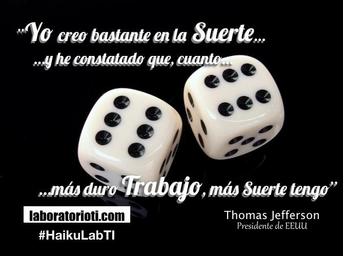 El haiku yo creo bastante en la suerte y he constatado - Cuanto dura la mala suerte ...