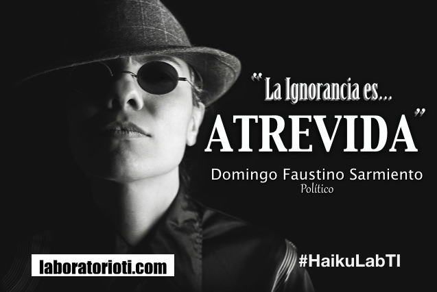 haiku ignorancia
