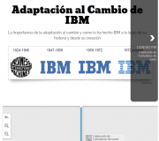 Cronologia IBM Adaptaci'on al Cambio