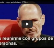 Steve Jobs hablando de Apple