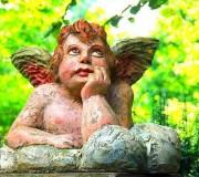 Angel pensativo