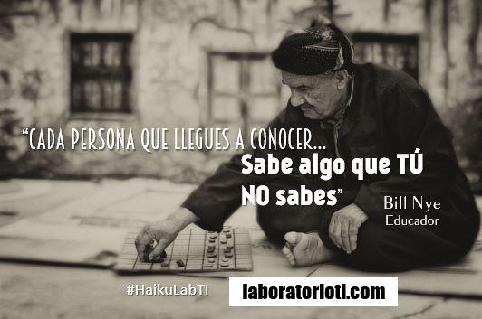 haiku conocer aprender