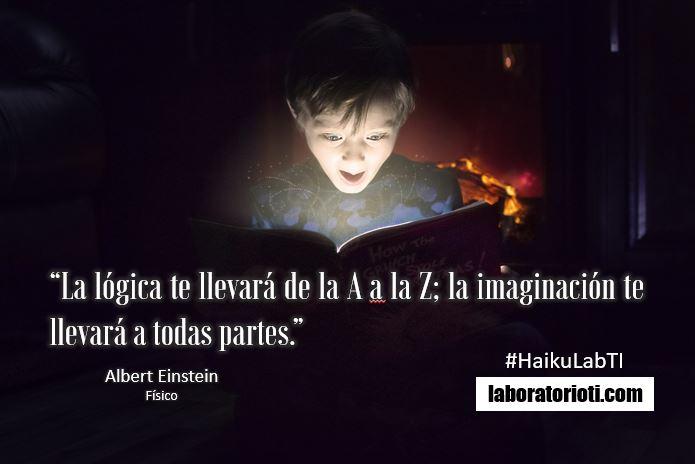 haiku einstein imaginacion todas partes