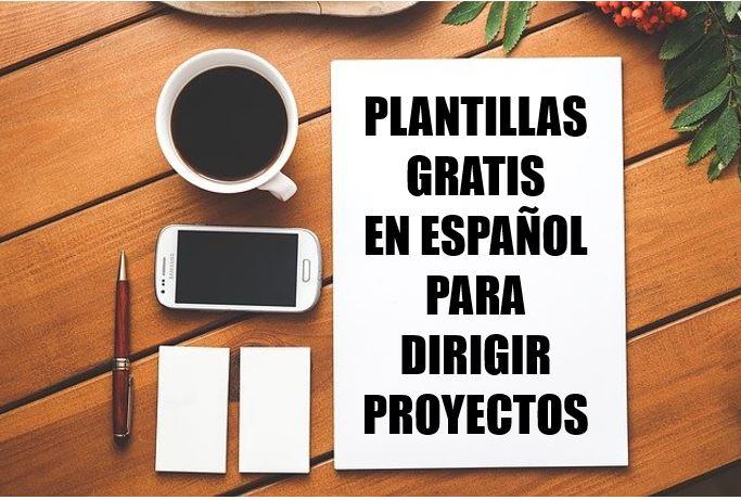 Plantillas para dirigir proyectos gratis